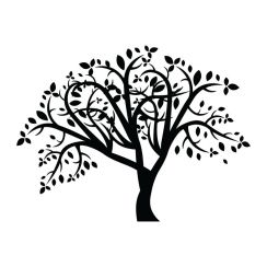 Sticker Mural Arbre Stylise Decomotif