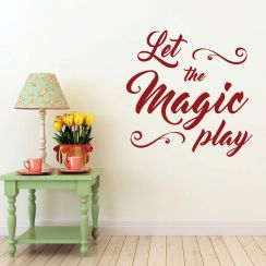 Let the magic play