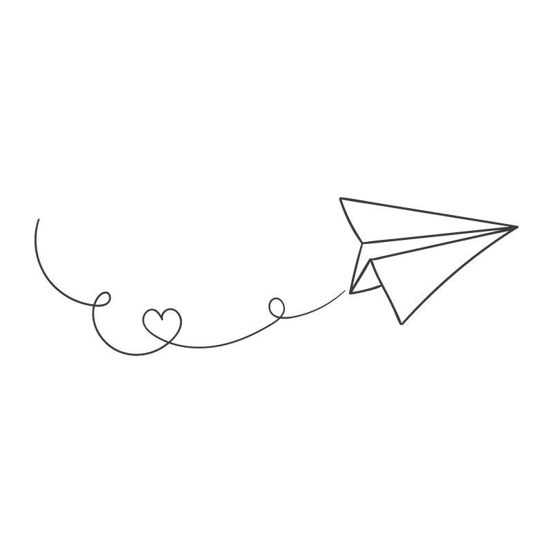 sticker mural avion en papier d comotif. Black Bedroom Furniture Sets. Home Design Ideas