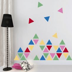 Triangles colorés