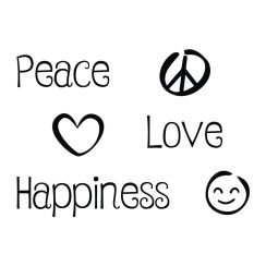 Peace, Love, Happiness