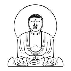 Stickers Muraux Zen Et Relaxants Bambou Bouddha Galets
