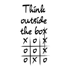 Think outside the box-x-x