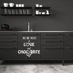 All we need is love and chocolate